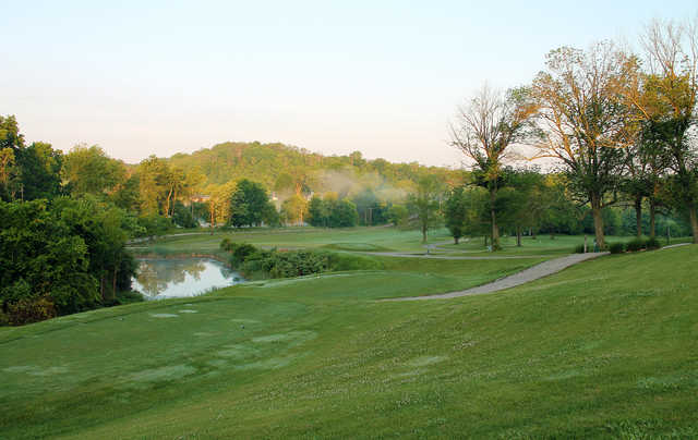 A view from Hickory Sticks Golf Club