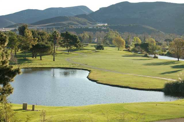 A view from Camarillo Springs Golf Course