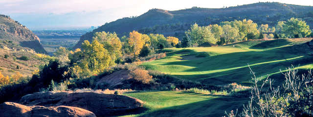 A sunny day view from Red Rocks Country Club.