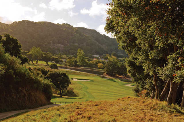 The natural setting on Carmel Valley Ranch's back nine brings one very close to nature.