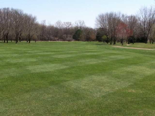 A view of fairway #11 at Fox Run Golf Club.