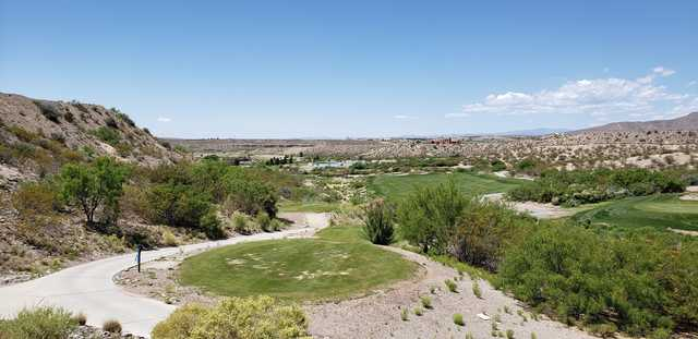 A view from Sierra del Rio Golf Course.