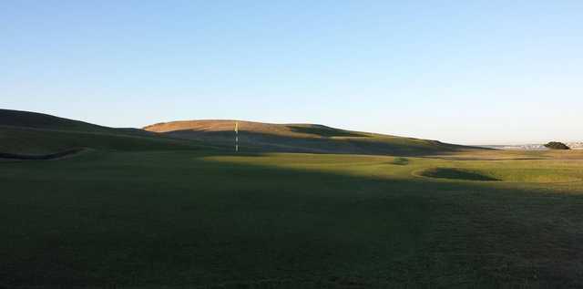 View of a green at Bondi Golf Club.