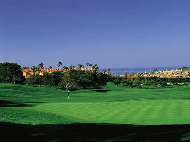 A view from Monarch Beach Golf Links.