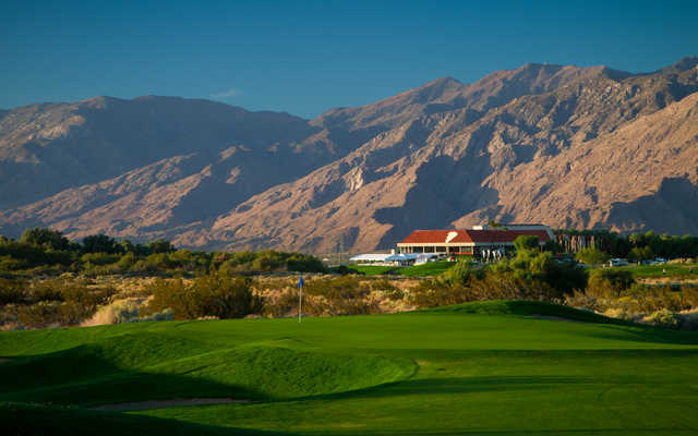 The sixth at Desert Dunes Golf Club is a short par 4, but when the wind is howling it's one of the toughest holes on the course.
