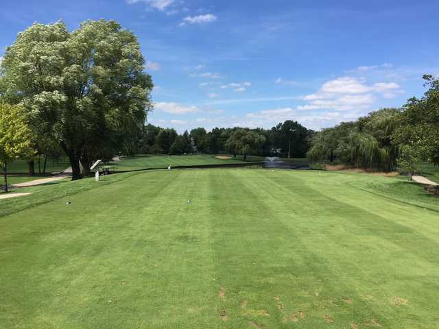 View from the 3rd tee at Sugar Creek Golf Course