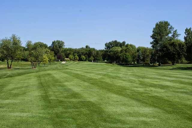 View from the 7th fairway at Sugar Creek Golf Course.