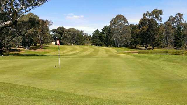 View from the 6th hole at Heathcote Golf Club