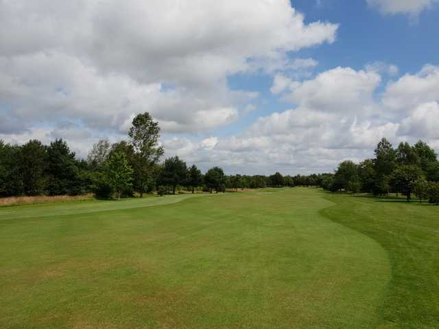 View from a fairway at Perton Park Golf Club.