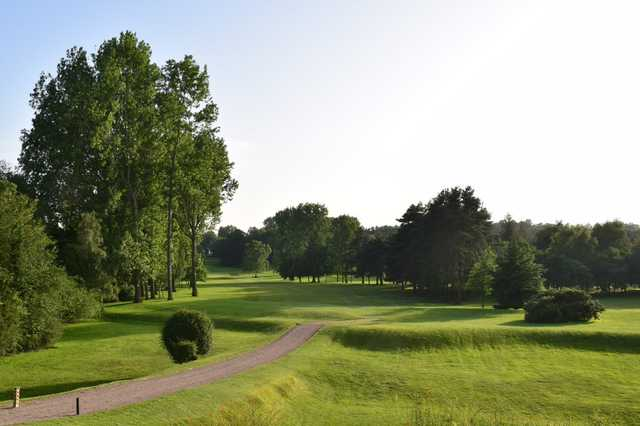 View from a fairway at Brough Golf Club.