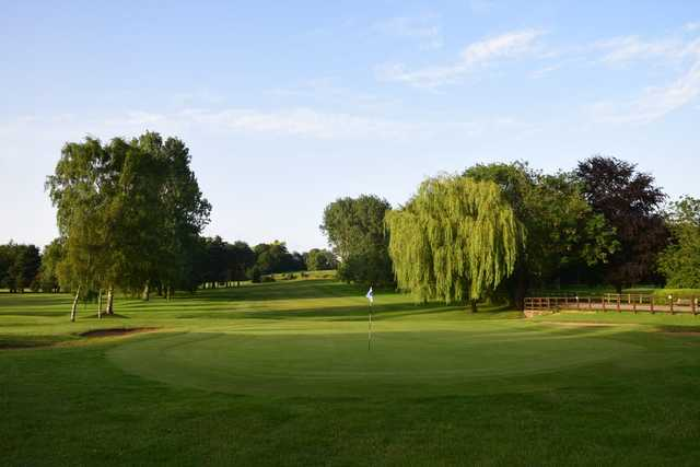 View of a green at Brough Golf Club