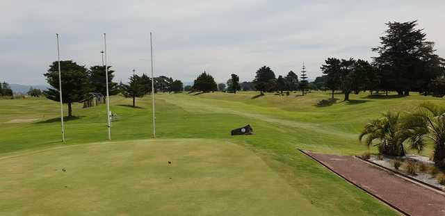 A view from St Leonards Golf Club.