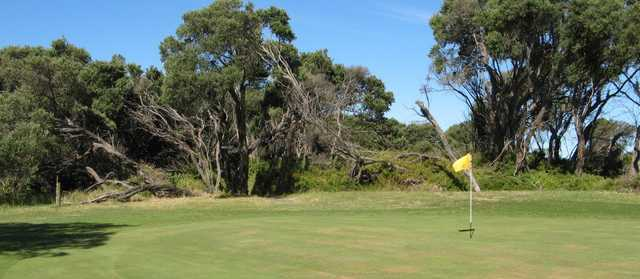 A view of hole #6 at St Leonards Golf Club.