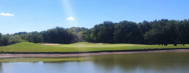 View of a green at Whitestone Golf Course.