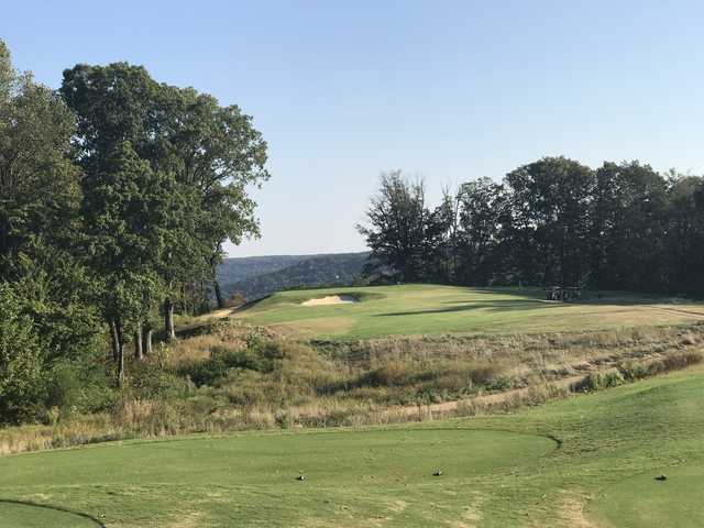 View from a tee at The Course at Sewanee