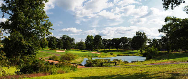 A view of hole #17 at Spooky Brook Golf Course.