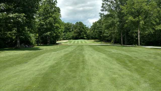 A view from a fairway at Mountain View Golf Club.