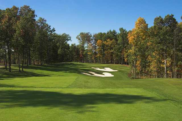A view from tee #5 at Blue Ridge Shadows Golf Club (PDI Chris John).