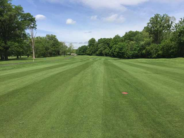 A view from a fairway at Algonkian Golf Course.
