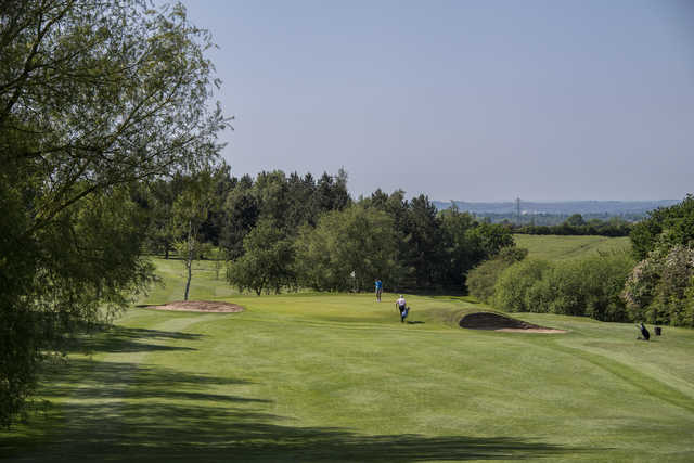 View of a green at Stanton-on-the-Wolds Golf Club