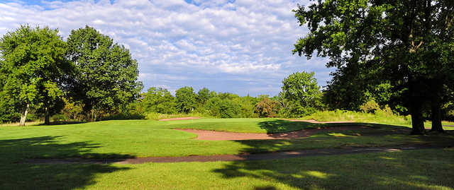 A view of hole #6 at Quail Brook Golf Course.