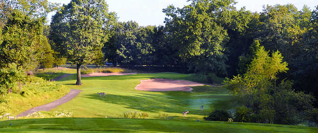 A view from tee #11 at Quail Brook Golf Course.