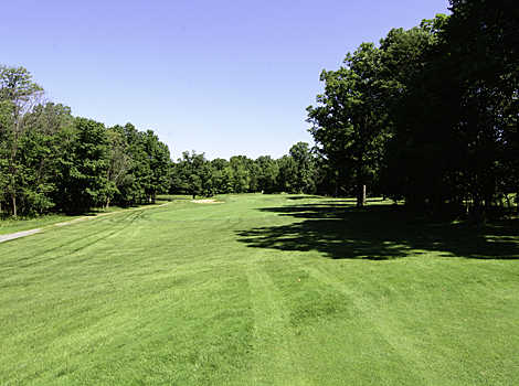 A view from a fairway at Oak Marr Golf Complex.
