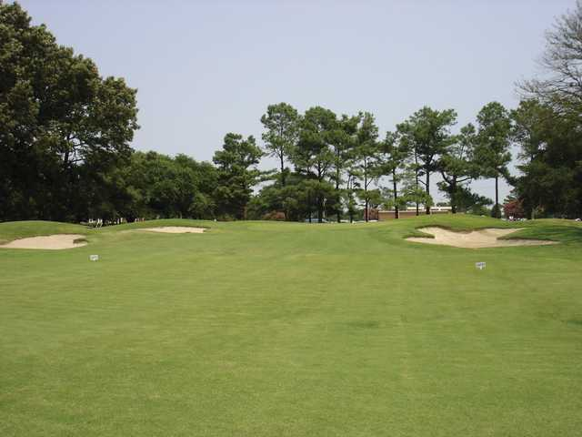 A view from a fairway at Ocean View Golf Course.