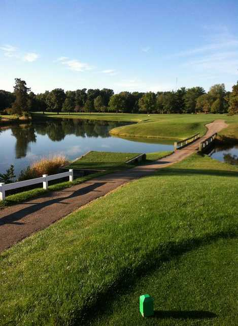 View from the 2nd tee at Golfmohr Golf Course