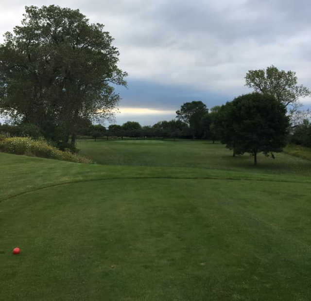 View from the 1st tee at Shoop Park Golf Course