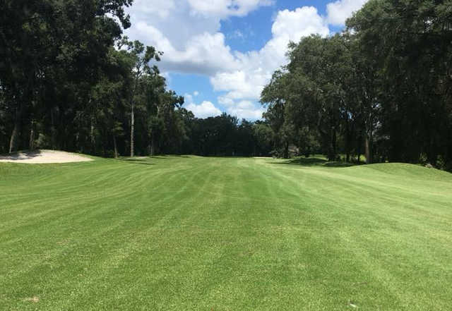 A view from the 4th fairway at The Spruce Creek Preserve Golf Club.