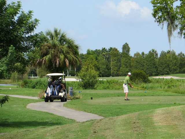 A view of tee #2 from The Links at Greenfield Plantation.
