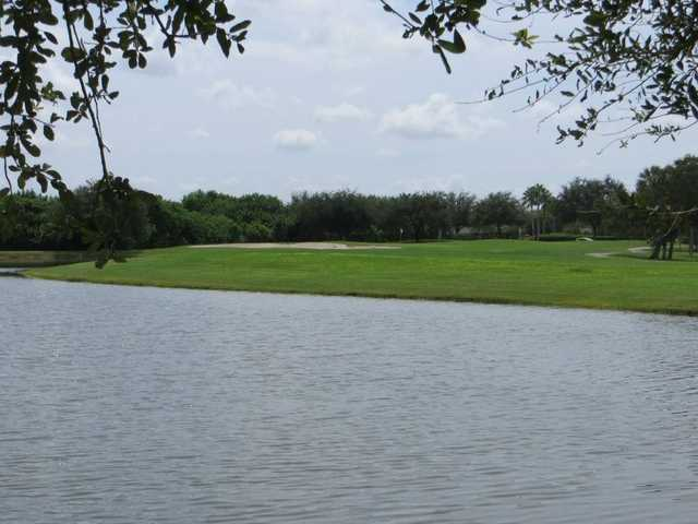 A view over the water from The Links at Greenfield Plantation.