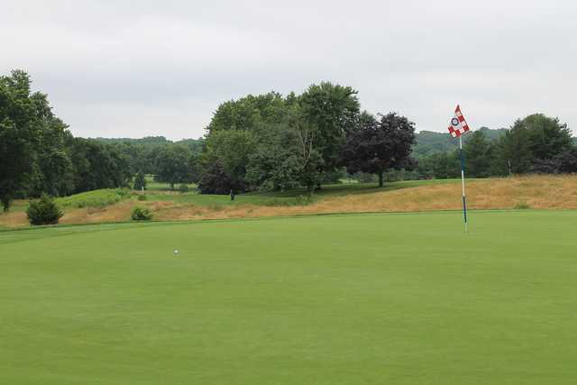 17t green at Hanover Country Club