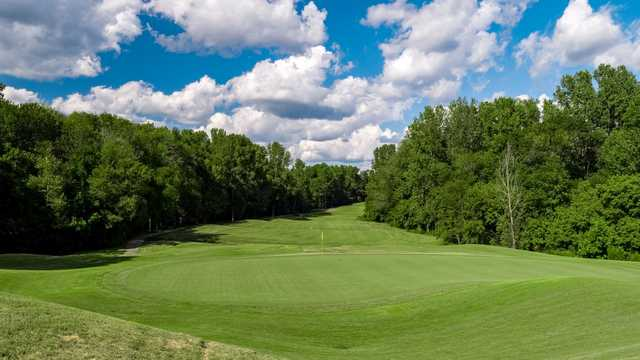 A view of hole #3 at Skybrook Golf Club.