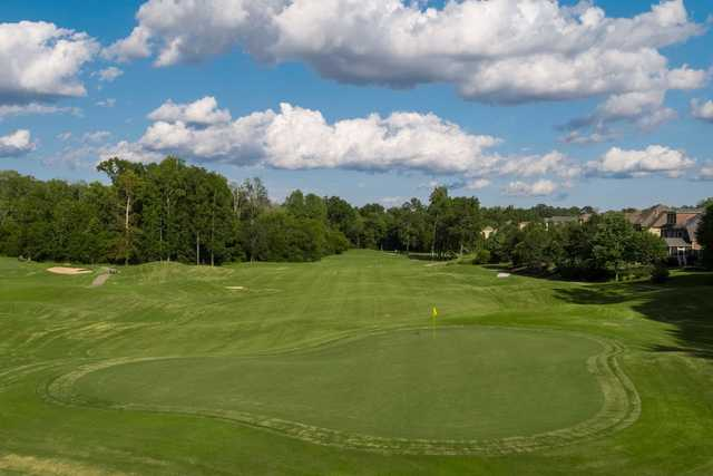 A view of hole #15 at Skybrook Golf Club.