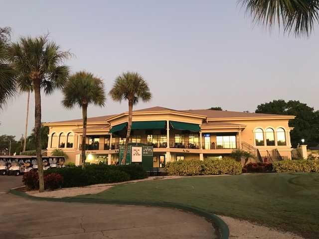 View of the clubhoushe at  Cleveland Heights Golf Club