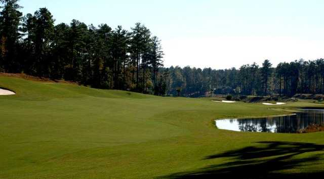 A view from fairway #11 at Monticello Golf Club from Savannah Lakes.