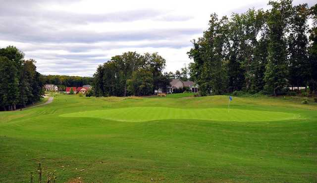 A view of a hole from The Links At Kahite Golf Course.