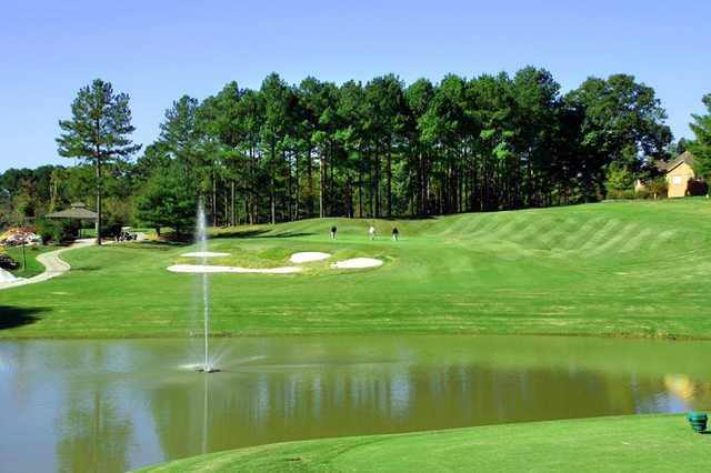 A view over the water from Toqua Golf Club.