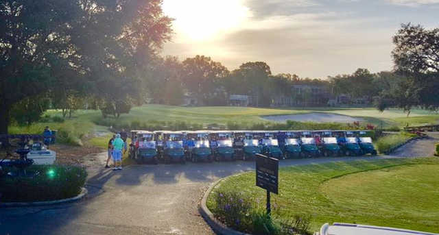 A sunny day view from Carrollwood Country Club.