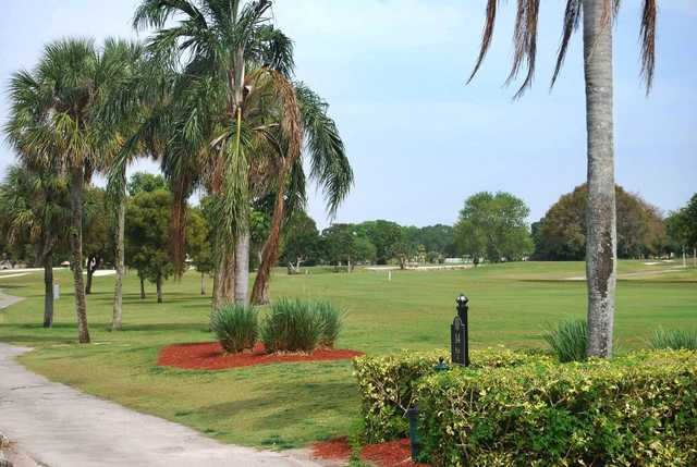 A view of fairway #14 at Country Club of Coral Springs.