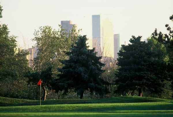 A view from Overland Park Golf Course
