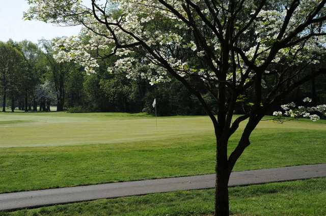Spring view from Oak Tree Golf Club.