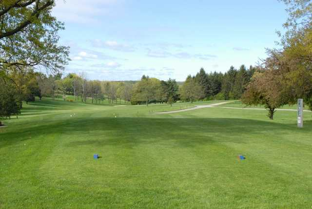 A view from tee #1 at South from South Hills Golf Club.