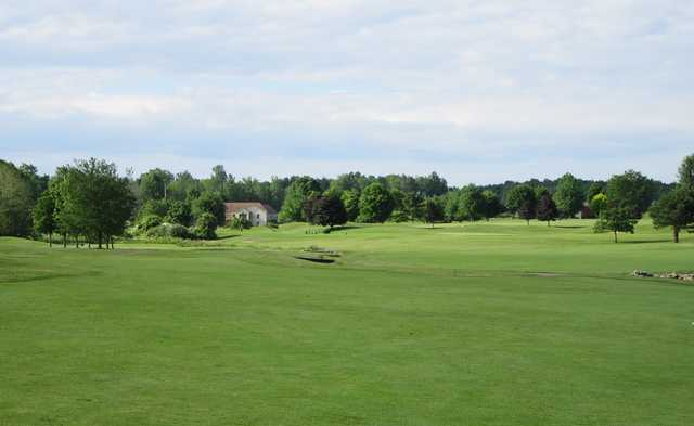 A view of a hole at Ohio Prestwick Country Club.
