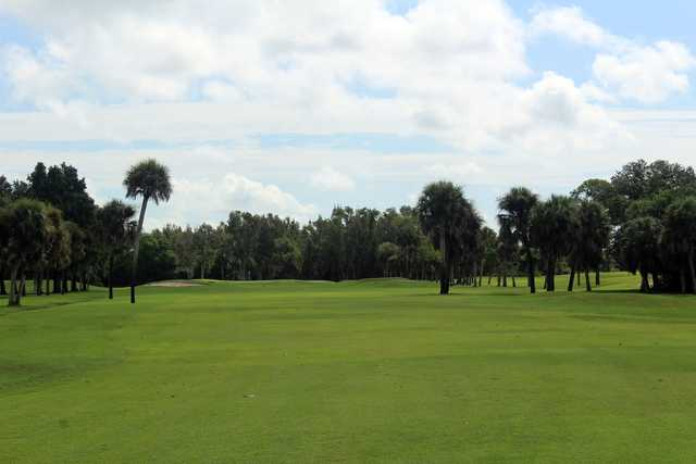 A view from a fairway at Boca Royale Golf & Country Club.