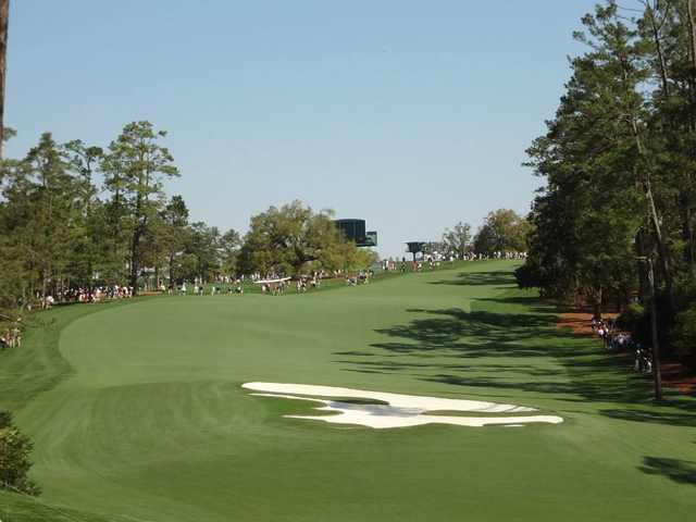 A view of the 10th fairway at Ivy Hills Country Club.
