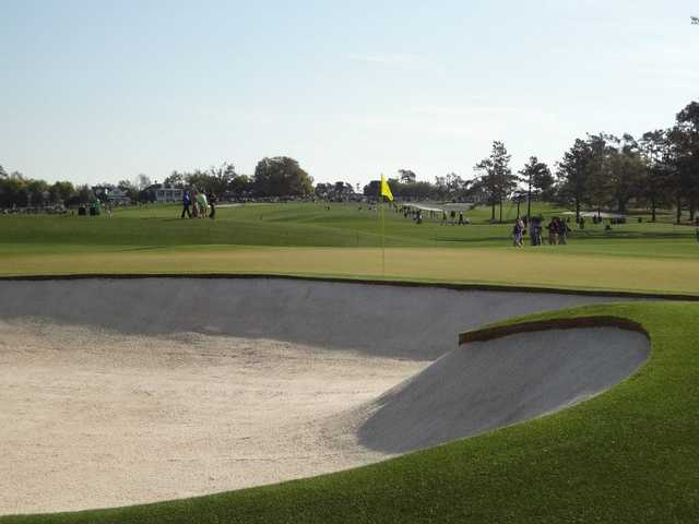 A view of hole #2 at Ivy Hills Country Club.
