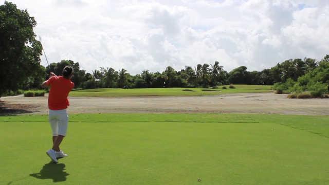 A view from tee #2 at Punta Blanca Golf & Beach Club.